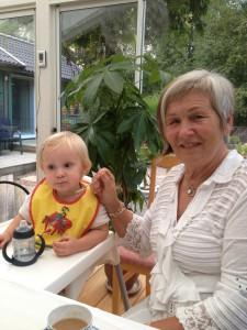 Ebba + farmor